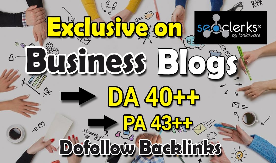 guest post in 40 DA HQ business blog for $5 - SEOClerks