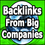 Backlinks From Big Brand Companies