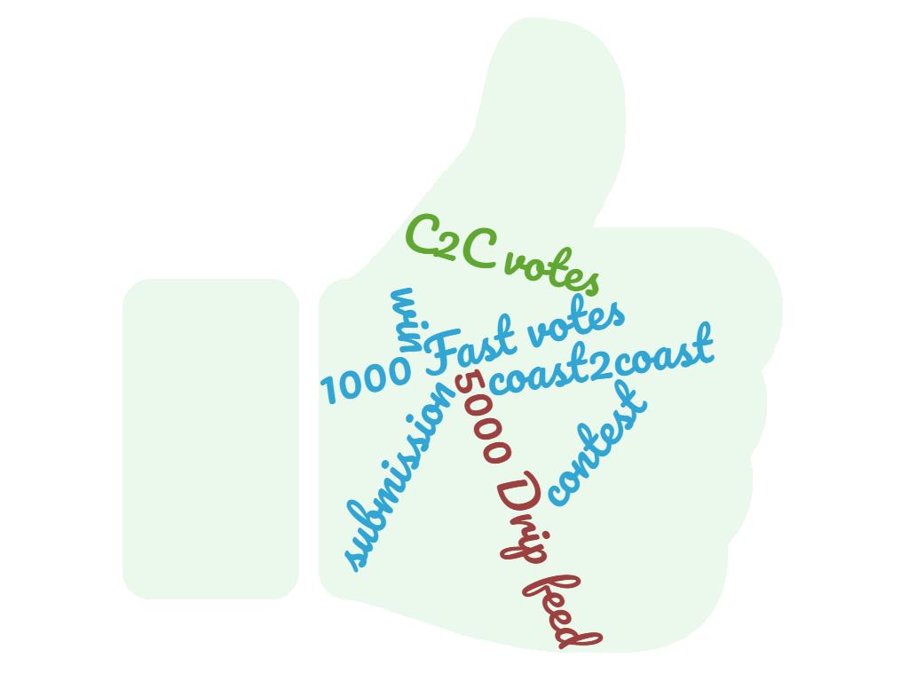 Coast2Coast votes 10-25 percent bonus votes! Promote you Up.