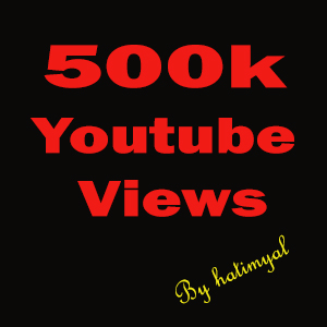 Give You 500000+ Good Retention + Splitable Youtube Views