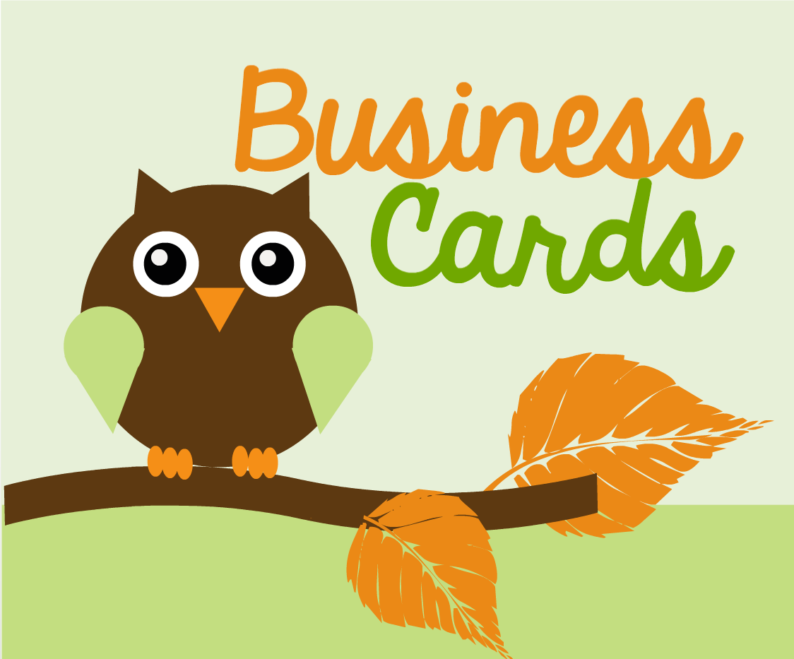 Design Two Eye Catching Business Cards