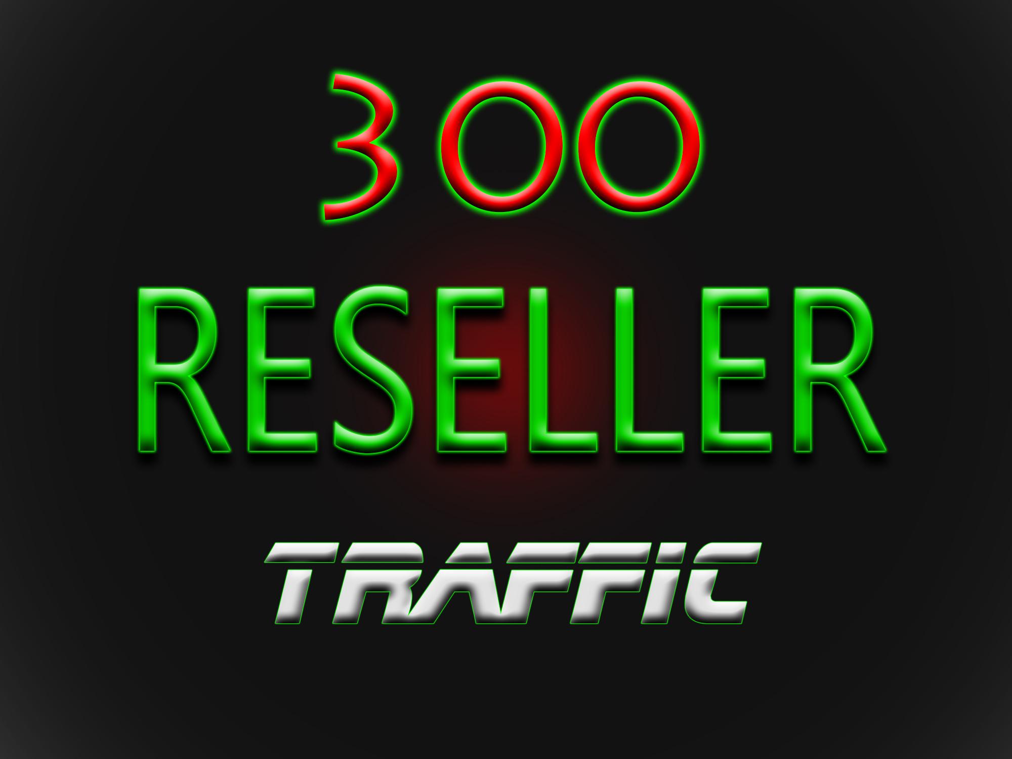 make you Web Traffic RESELLER 300