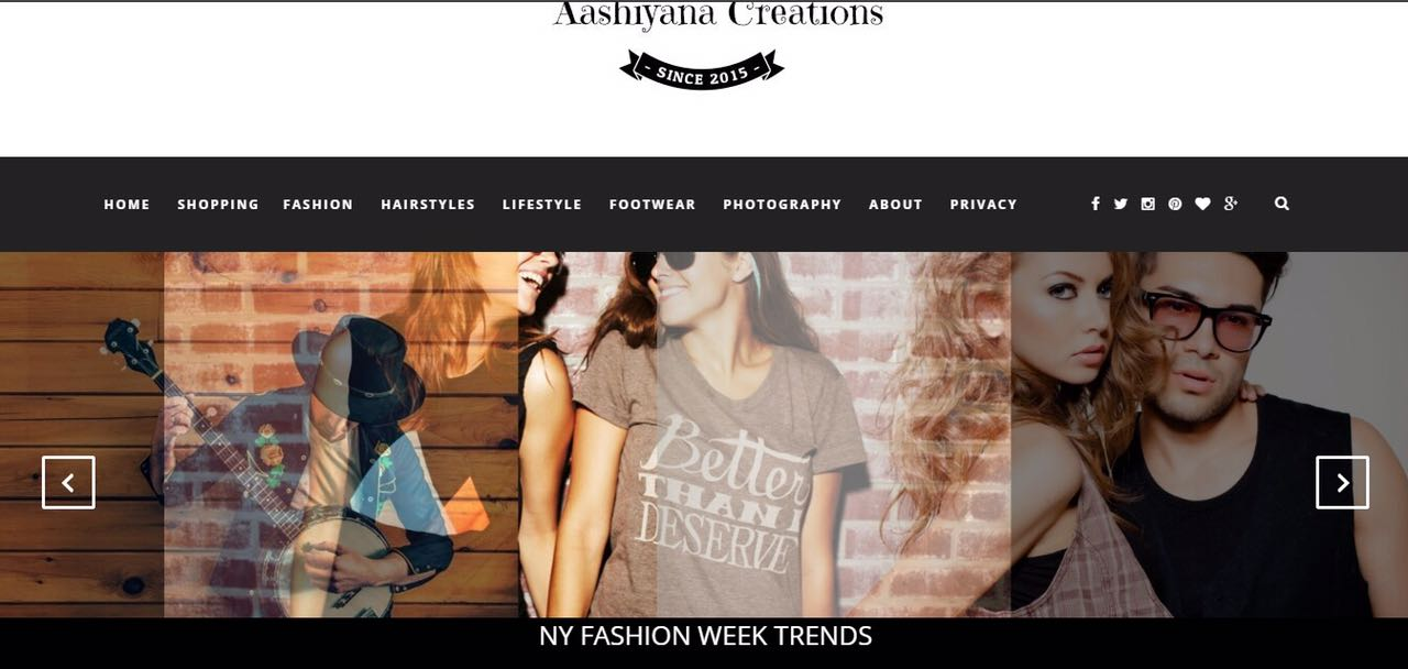 Guest post on lifestyle and shopping blog