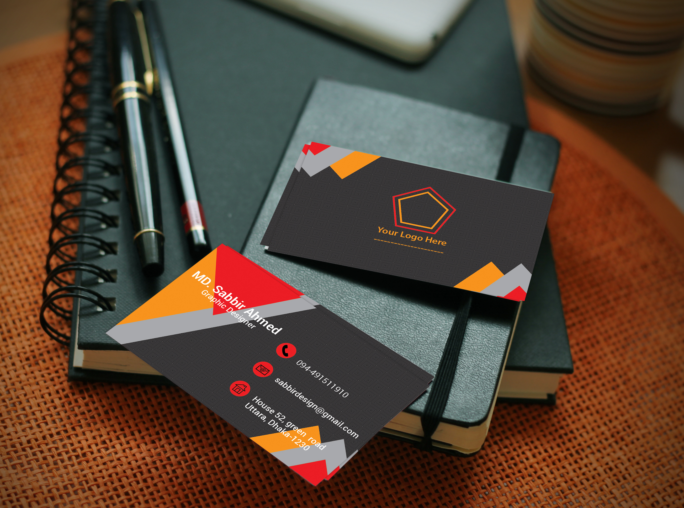make double side business cards for $10 seoclerks