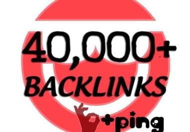 make 40,000 blog comment backlinks
