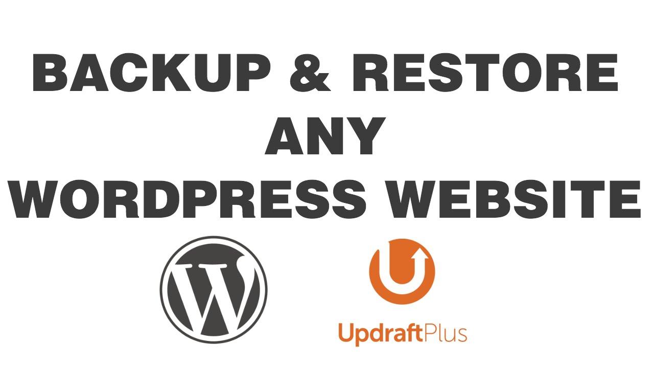 Backup, Restore,  Migration Your Wordpress Website in Just 24 hours