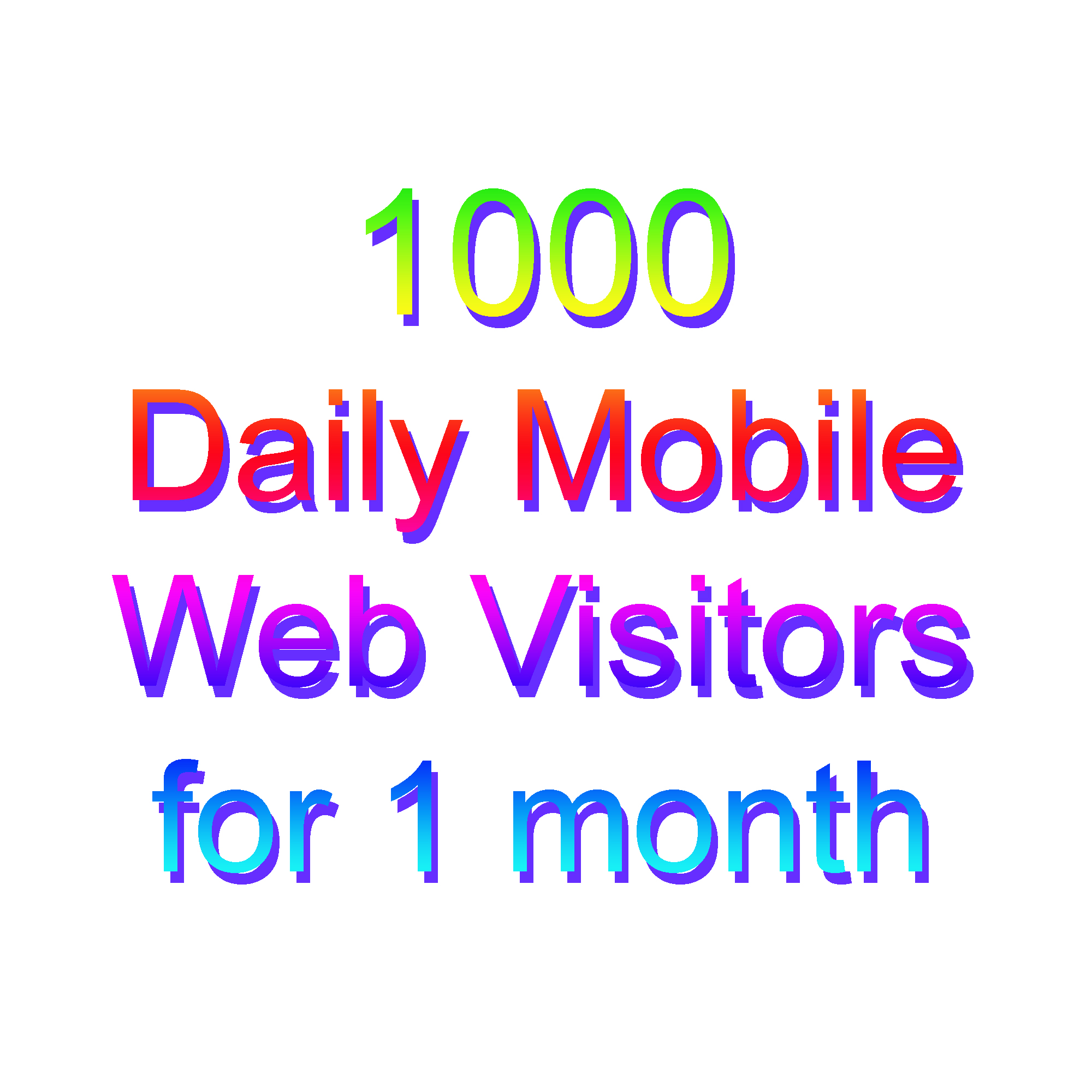 Get UNLIMITED targeted WEB TRAFFIC