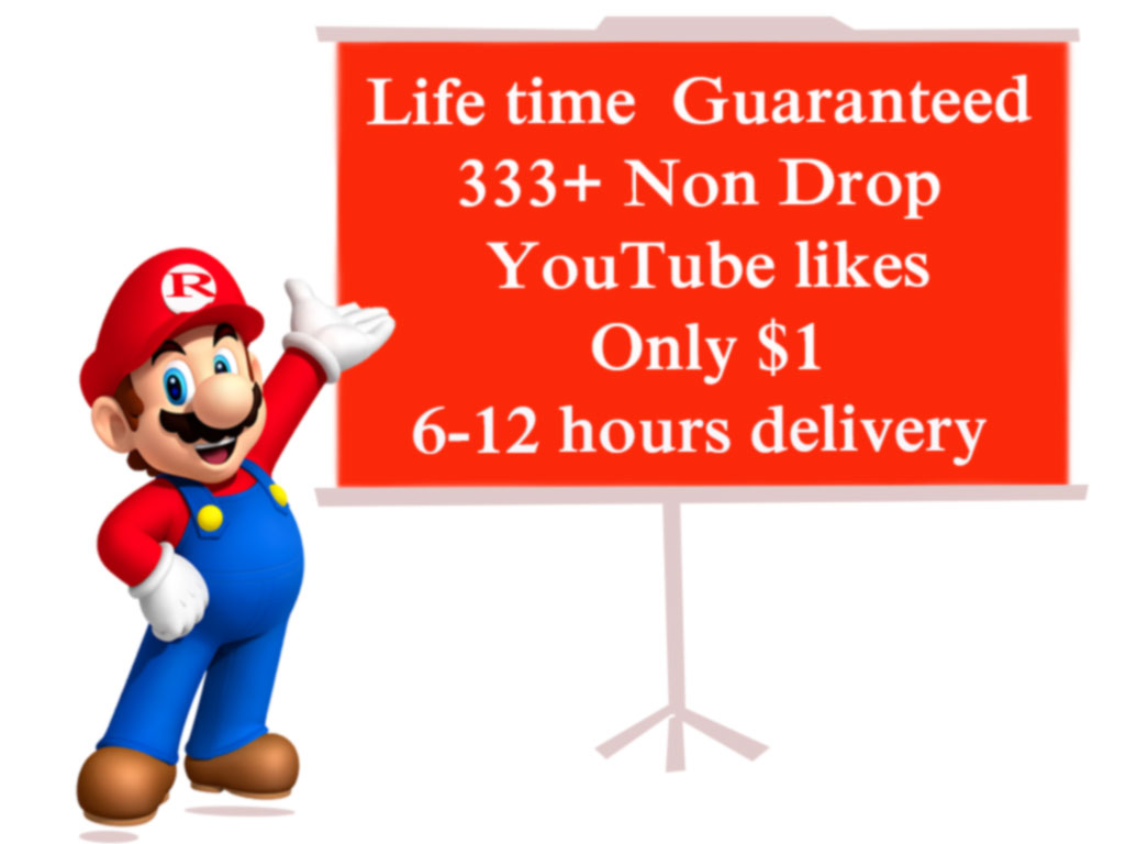 instrant   333 + HQ youtube L I K E on your video and 12-24 hours delivery