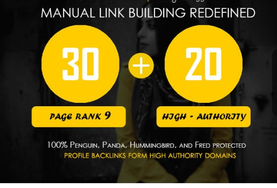 Boost Your Google Rank With 50 Pr9 Permanent SEO Authority Backlinks