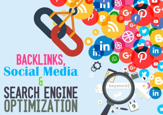 social networks profiles backlinks