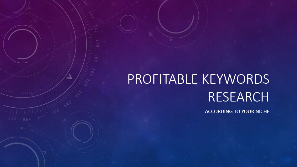 Do 40 profitable keywords research for you