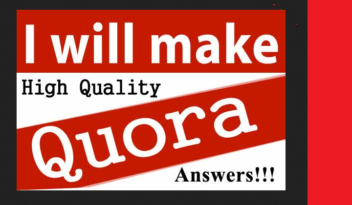 offer 60 quora answer with link