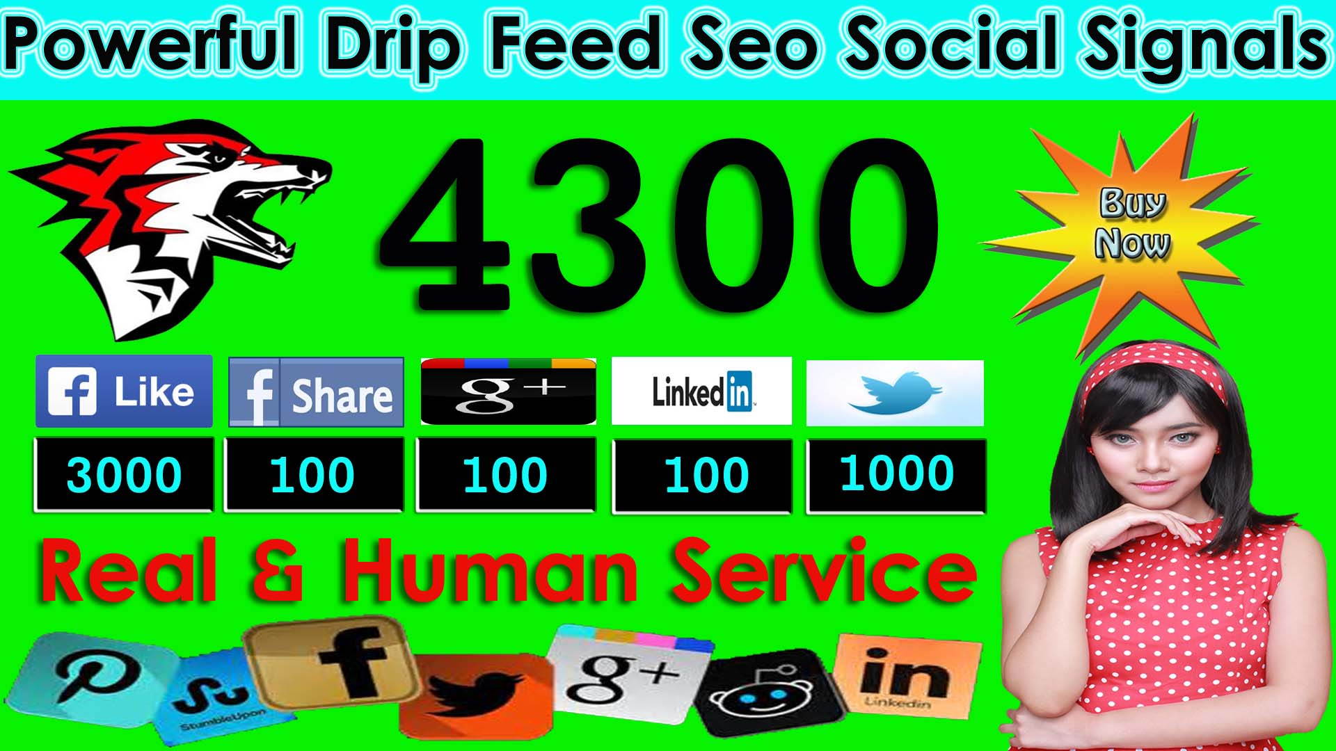 Drif Feed 4300 Seo Social Signal Promotion To Your Channel