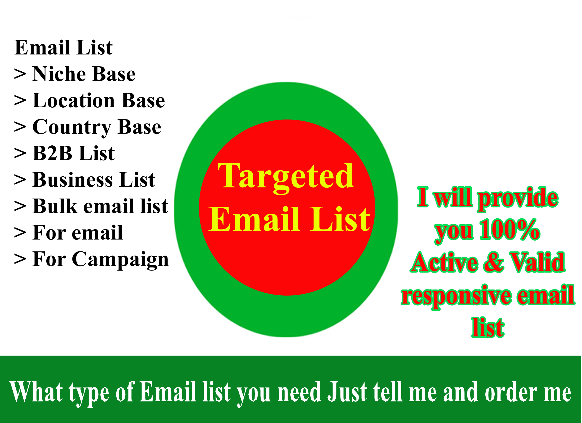Scrape / Collect / Extract your Targeted 50K  Email List