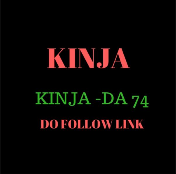 Do write and puplish Guest Post On Kinja With Do Follow Backlinks
