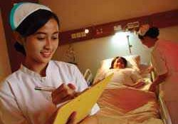 SELL PATIENT HEALTH ARTICLES IN HOSPITAL TO THE NATURAL COMMUNICATIONS NURSE