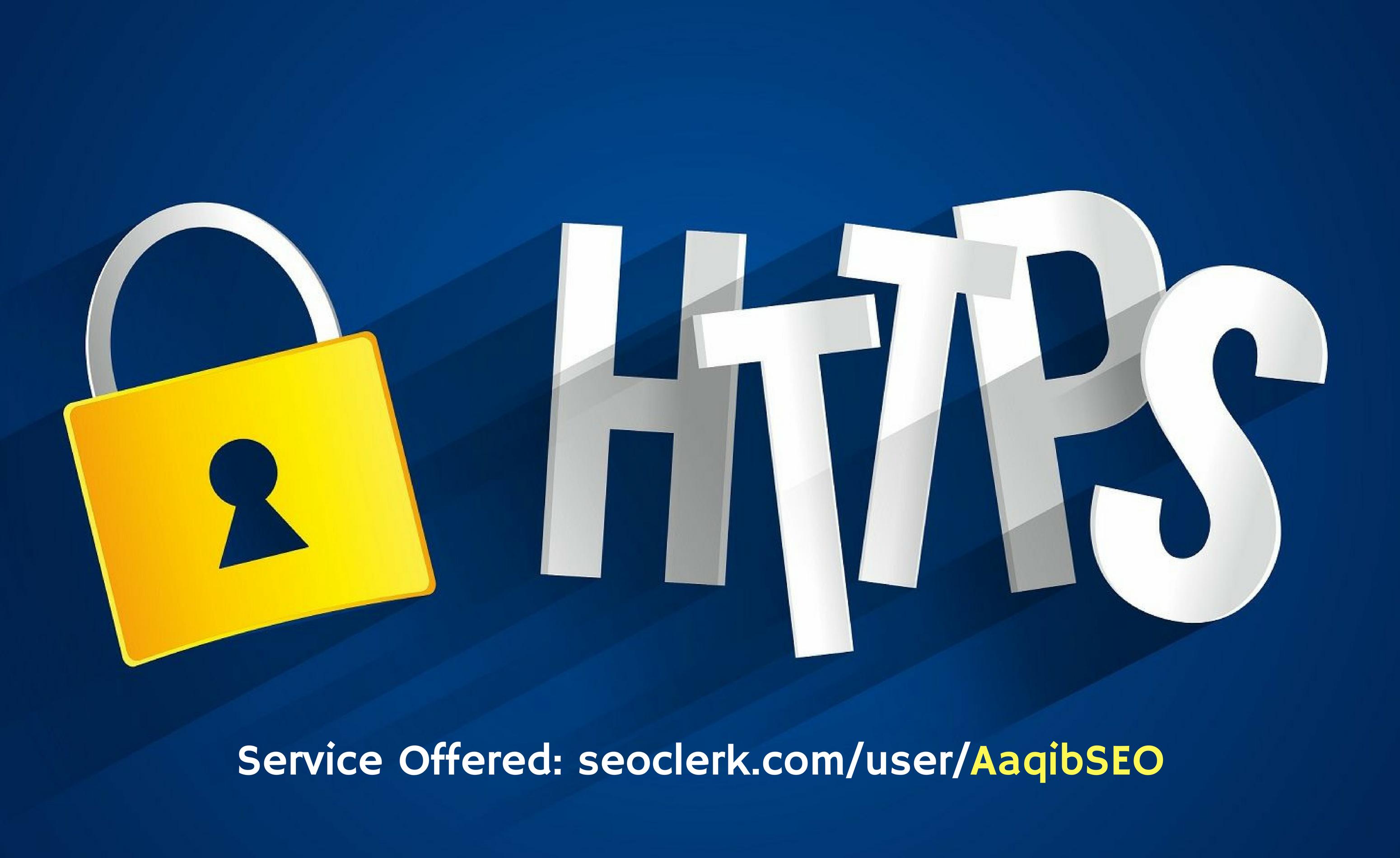 Install Ssl Certificate Https On Wordpress Website For 5 Seoclerks