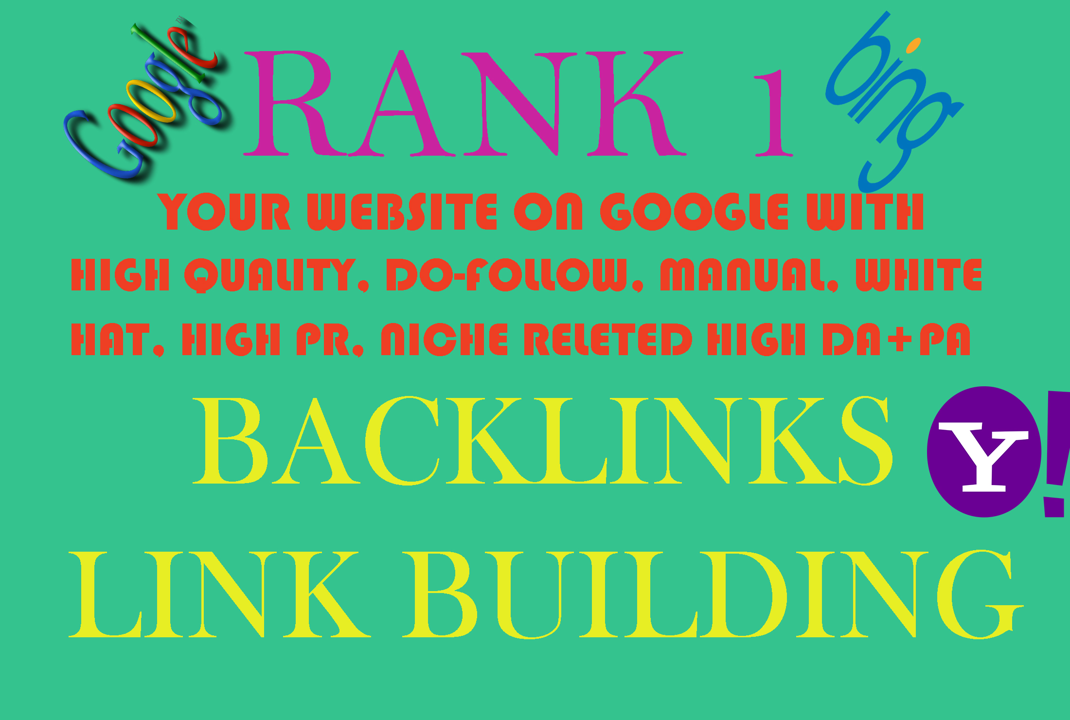 Do 50+  link building With high pr da pa quality do follow seo backlinks