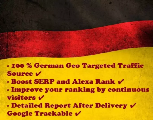 I Drive German Website Traffic To You 5000 Direct Visits From Germany