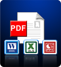 convert pdf to other formats and viceversa
