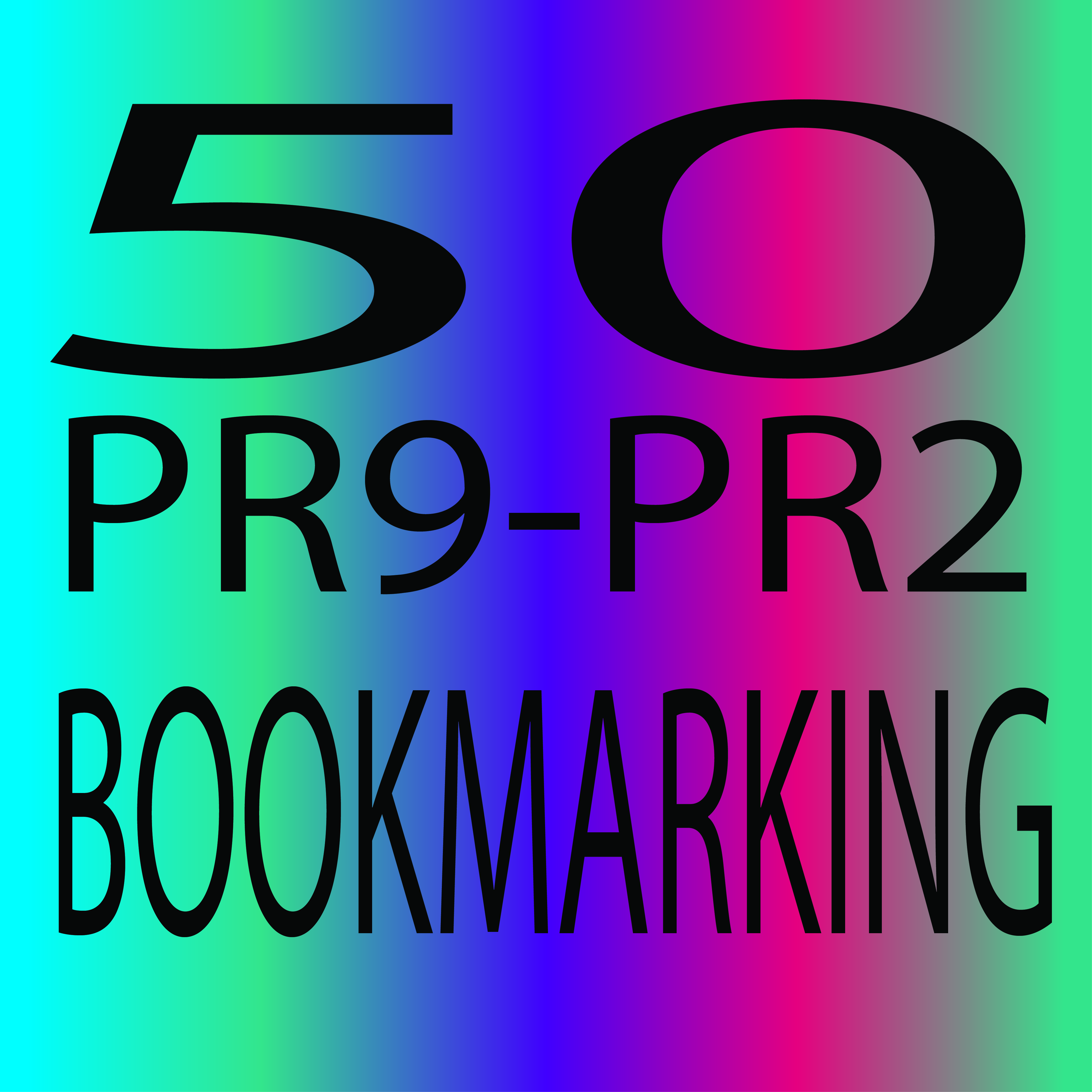 Do Social Bookmarking 50 Sites High PR