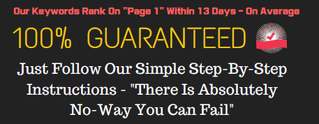 """Get 'Easy To Rank' Keywords With """"ZERO Competition"""" For Instant Google Rankings"""
