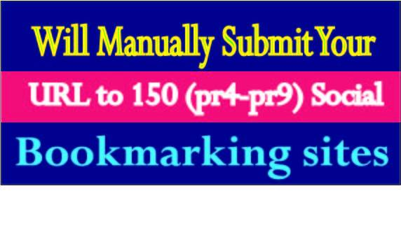 Submit Your URL/website To 55+ SEO Social Bookmarks High Quality authentic Backlinks