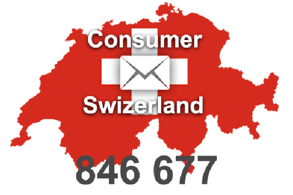 Database Email Switzerland 840'000 address