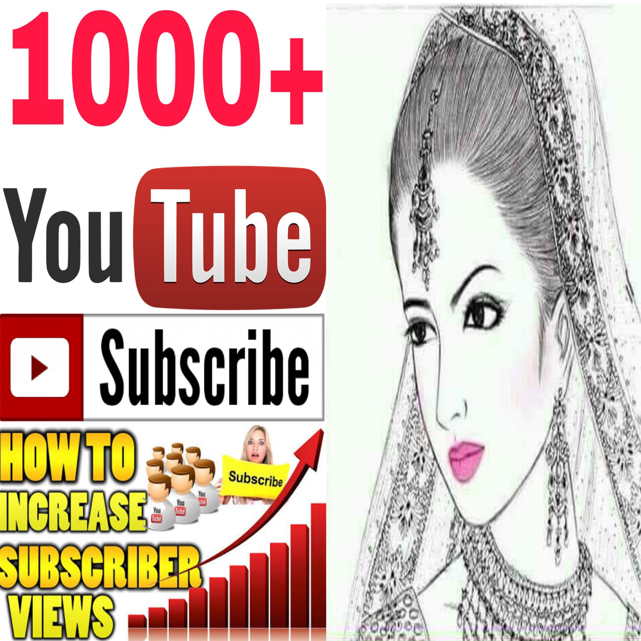 Instant Add safe 1k/1000  channel subscriber non drop Guaranteed  must be rifile super fast in 2-8 hours