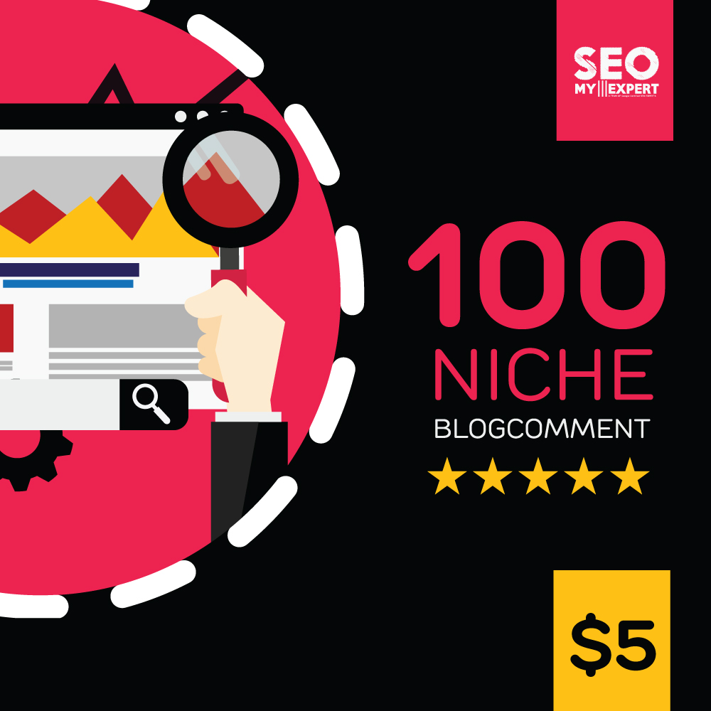 We Give you 50 High DA PA NIche Blogcomments