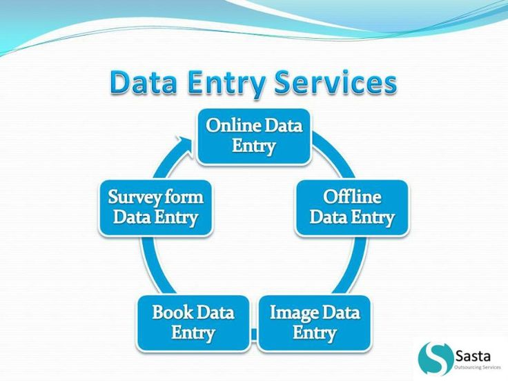 Data Entry And Web Research, CMS web site