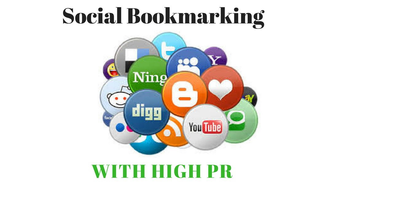 Submit url/website to 150+ Social Bookmarking sites with High Quality Backlink