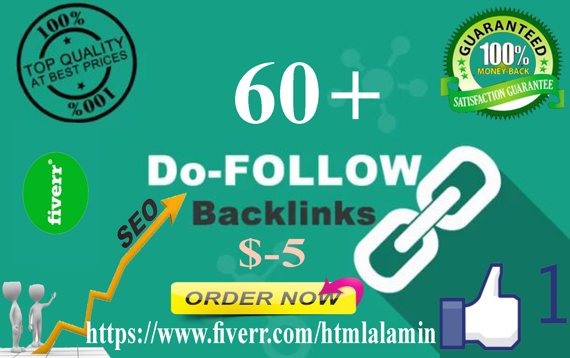 I Create 60 Do Follow Backlinks Google Rankings Your Website