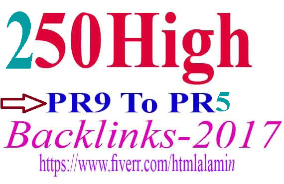 I Can Do Google Rankings With 250 High Pr9 To Pr5 SEO Backlinks yoursite