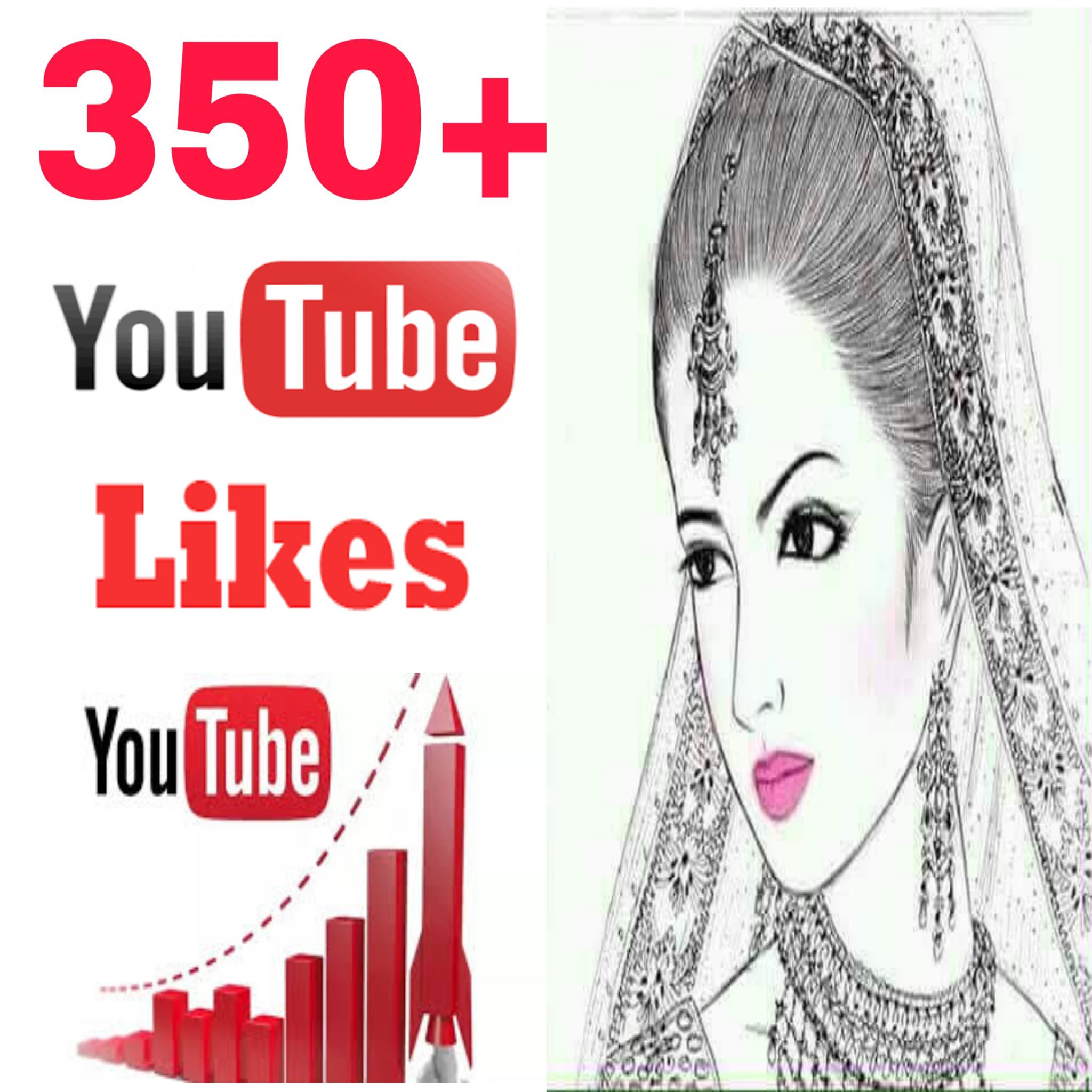 INSTANTLY Provide 350+ high quality video likes very fast in 1-1 hours
