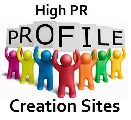 Will Create 100 PA and DA high authority profile backlink for your Site