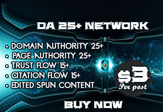 Boost your Rankings with our Professional DA 25+ PBN Links 10 Links