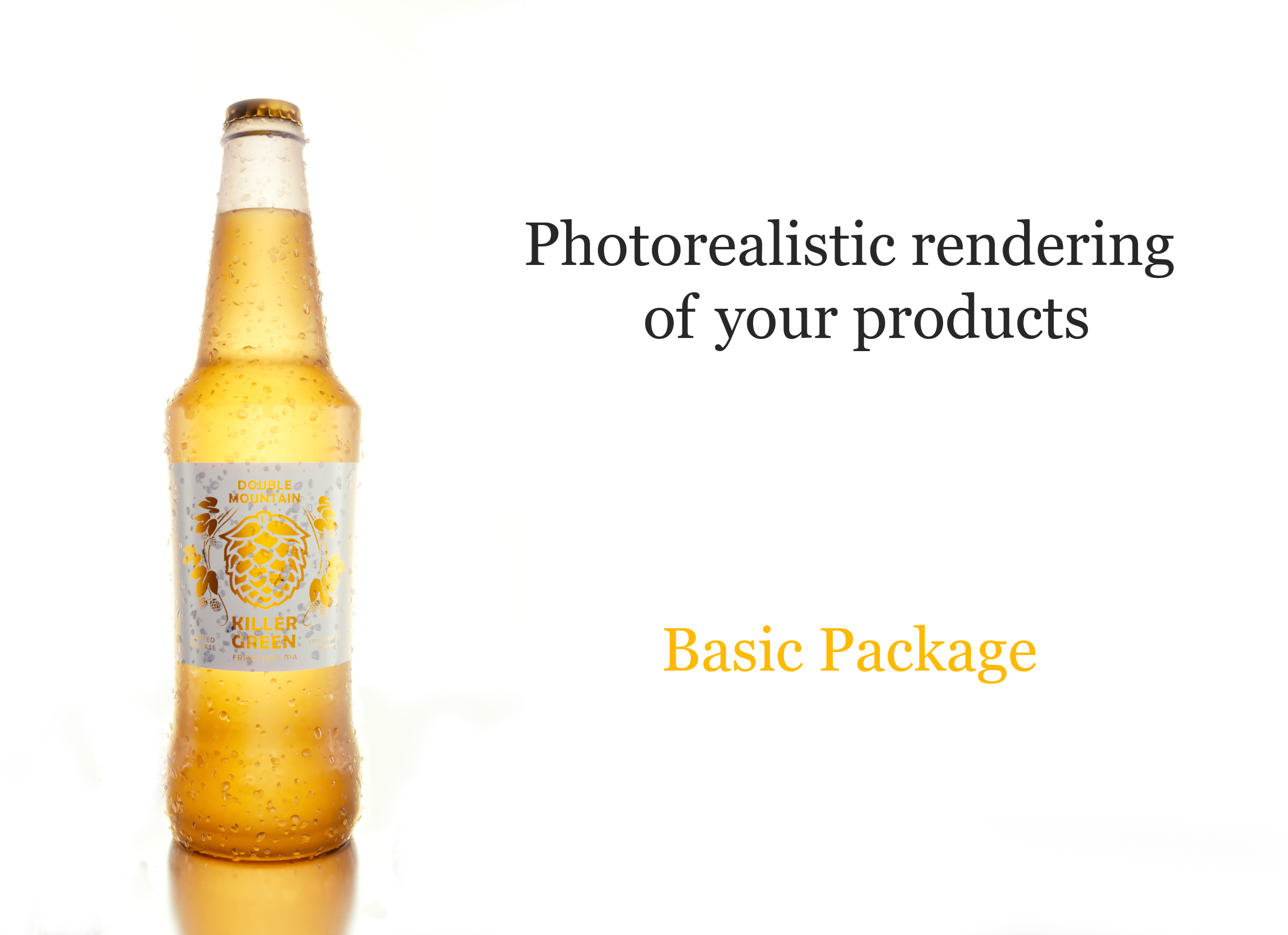 Photorealistic FullHD 3D Product Rendering