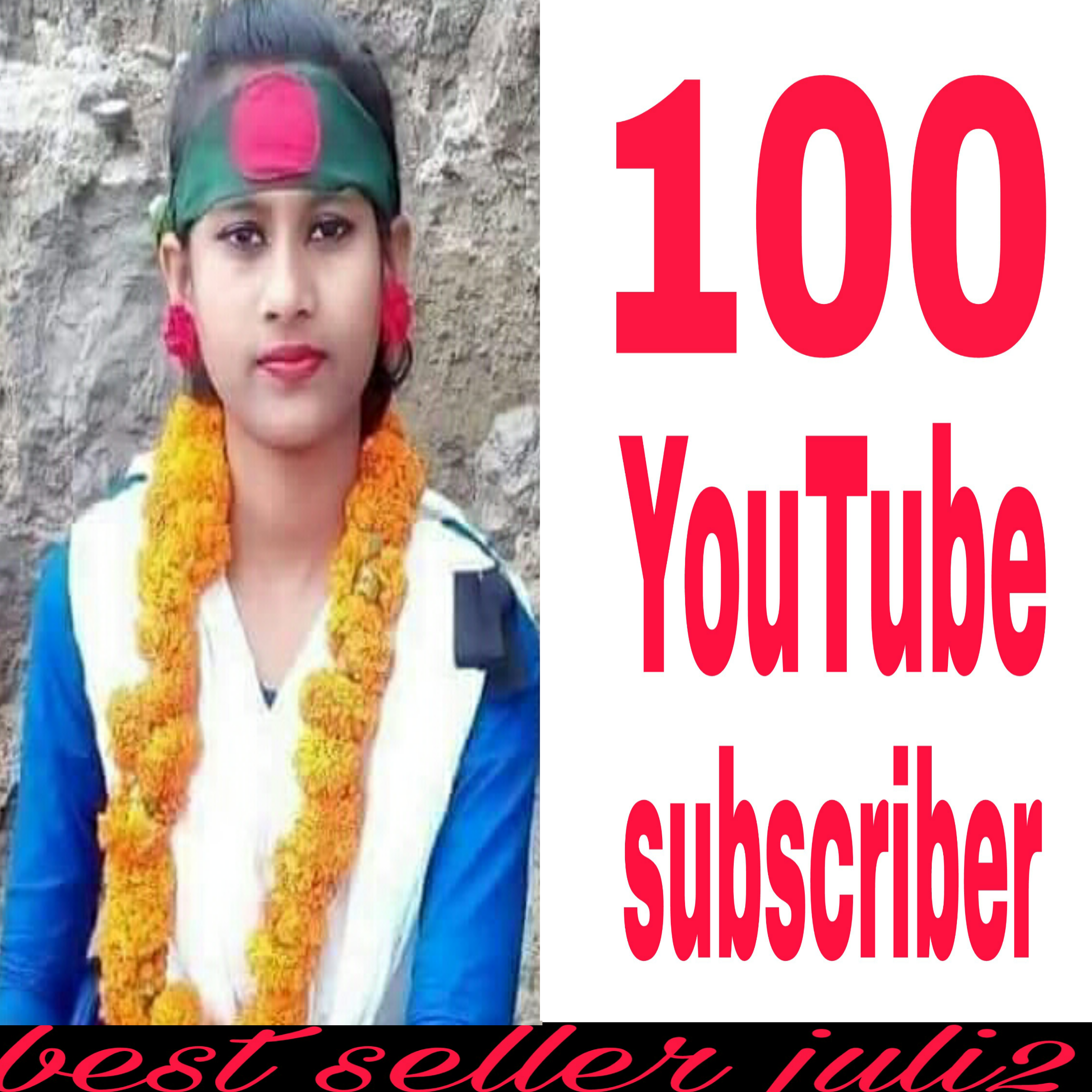 Fast provide  100+ Non-Drop YouTube subscriber very fast in 2-1 hours