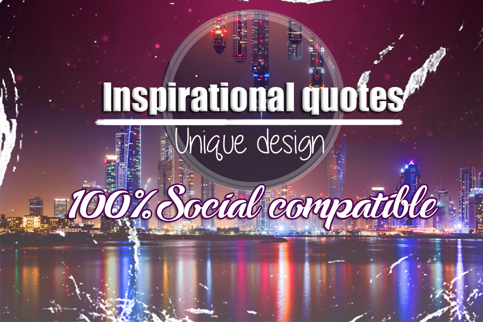 Design A Set Of 5 Unique Social Media Picture Quotes