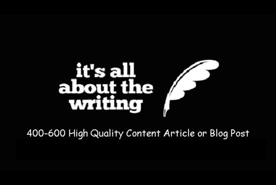 2 x SEO content articles or blogposts