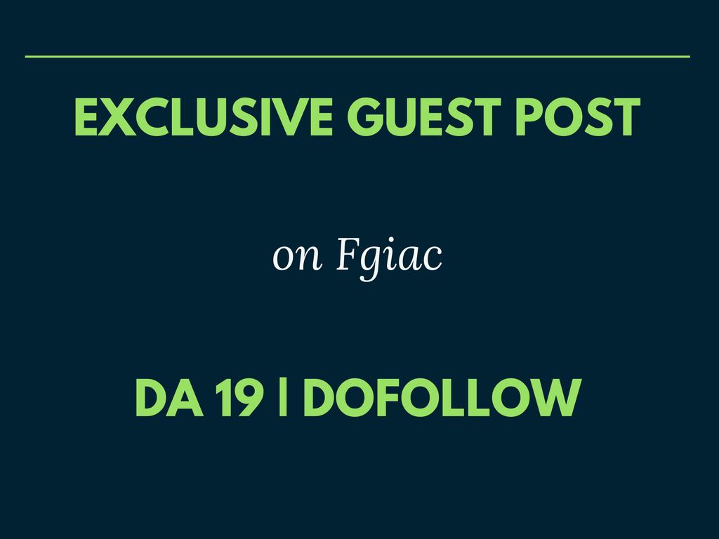 Publish Your Guest Post on Health Blog DA 19 Dofollow