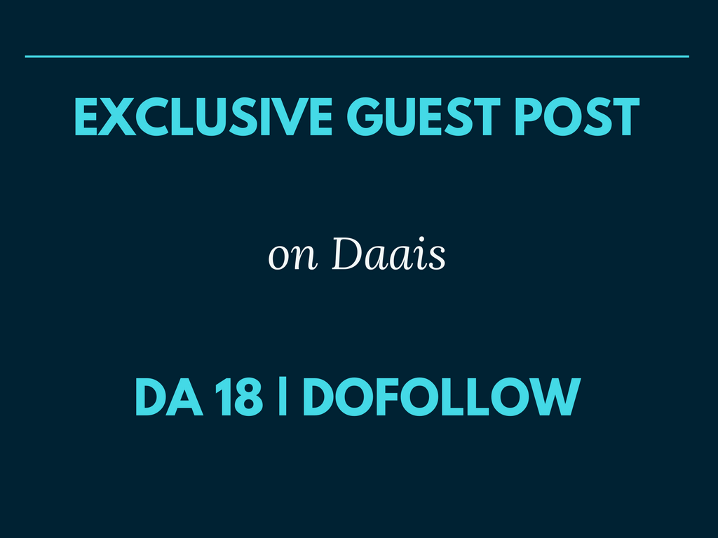 Publish Your Guest Post on Technology Blog DA 18 Dofollow