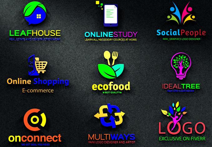Design Modern Company Business Brand Website Logo  (3)