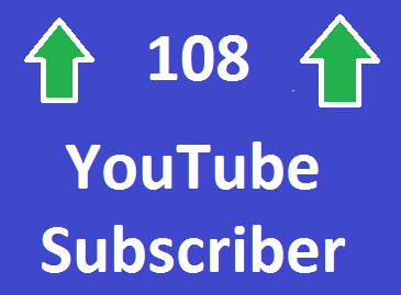 I WILL GIVE YOU 108 + NON DROP YOUTUBE SUBSCRIBERS ONLY for