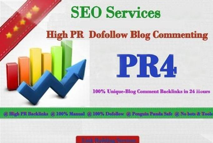 Do High Pr4,  30 Manual Dofollow Blog Comment
