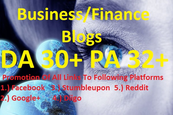 Post On My Quality Business Blogs for $5