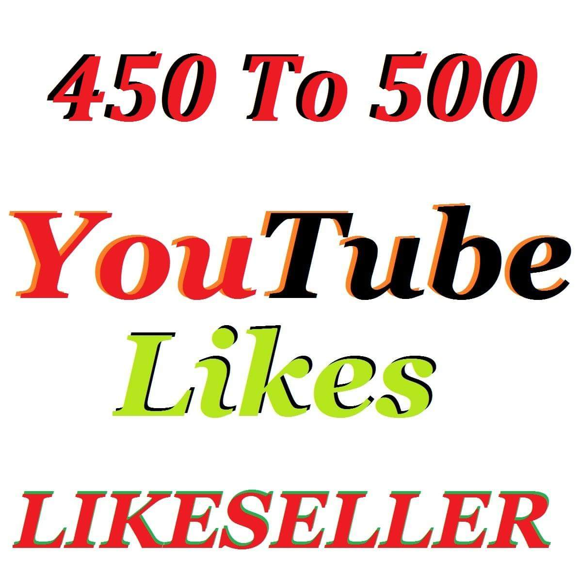 Instant start 401 to 501 youtube like 1-12 hours delivery