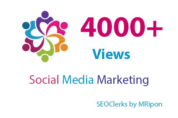 4000 High Quality Photo Likes or 5000 Video Views