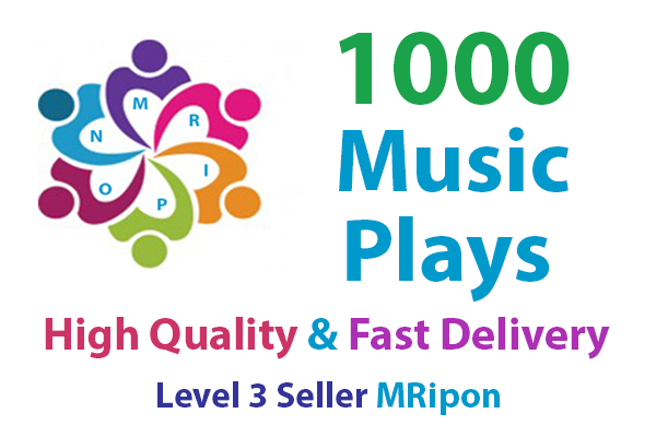 1000 High Quality Music Song Promotion